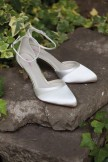 Rainbow Club Ivory Dyeable Wedding Shoes Harper