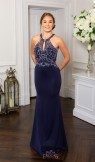 Prom Frocks PF9655 Navy Prom Dress or Evening Gown