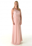 Linzi Jay Bridesmaid Dress EN315 in Vintage Rose
