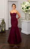 Prom Frocks PF9600 Blackcurrant Prom Dress or Evening Gown
