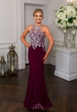 Prom Frocks PF9509 Blackcurrant Prom Dress or Evening Gown