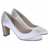 Rainbow Club Ivory Dyeable Wedding Shoes Florence