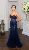 Prom Frocks PF9322 Navy Prom Dress or Evening Gown