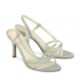 Silver Occasion Shoes Paradox Pink Blush