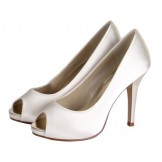 Rainbow Club Wedding Shoes Jennifer Ivory or White Bridal Shoes