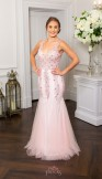 Prom Frocks PF9644 Pale Pink Prom Dress or Evening Gown