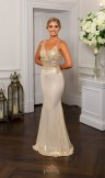 Prom Frocks PF9715 Champagne Prom Dress or Evening Gown