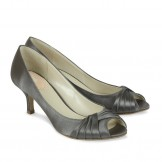Paradox Pink Romantic Slate Satin Occasion Shoes