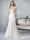 Bridal Gown Ella Rosa BE447 by Kenneth Winston