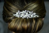 Diamante and Pearl Hair Comb TLH3045