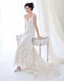 Bridal Gown Ella Rosa BE399 by Kenneth Winston