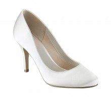 Magnolia, Medium heel Bridal pump