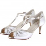 Rainbow Club Harlow Ivory and Gold Dyeable Wedding Shoes