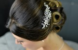 Freshwater Pearls & Diamante Hair Accessory/Hair Comb,TLH3016
