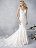 Bridal Gown Ella Rosa BE445 by Kenneth Winston